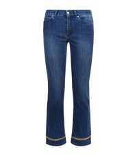 Escada Sport Linda Beaded Jeans Female Blue