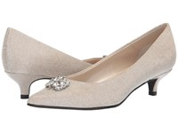 Caparros Oligarch Nude Glimmer Shoes Bone