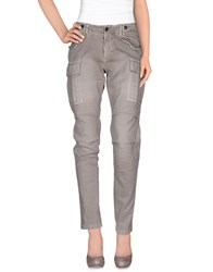 Mason's Trousers Casual Trousers Women Grey