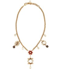 Dolce And Gabbana Exclusive To Mytheresa.Com Embellished Necklace Gold