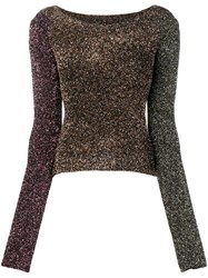 Mcq By Alexander Mcqueen Fitted Party Sweater Black