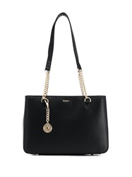Dkny Bryant Textured Shoulder Bag Black