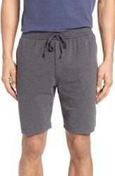 Nordstrom Men's Men's Shop Stretch Cotton Lounge Shorts Grey Charcoal