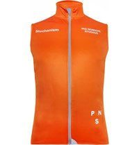 Pas Normal Studios Winter Cycling Gilet Orange