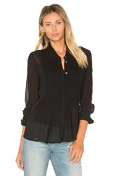 Theory Dionelle Button Up Black