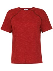 Spacenk Nk Panelled T Shirt Red
