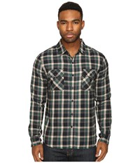 Huf Taylor Flannel Shirt Green Men's Clothing