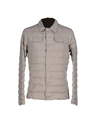 Club Des Sports Coats And Jackets Down Jackets Men Light Grey