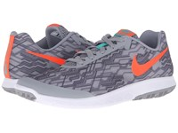 Nike Flex Experience Rn 5 Premium Stealth Total Crimson Black Clear Jade Men's Running Shoes Gray