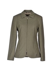 Trussardi Jeans Jackets Military Green