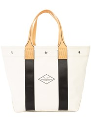 Rag And Bone Logo Stamp Tote Bag Nude And Neutrals
