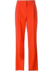 Emilio Pucci Wide Leg Trousers Red