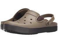 Crocs Citilane Clog Khaki Espresso Clog Shoes