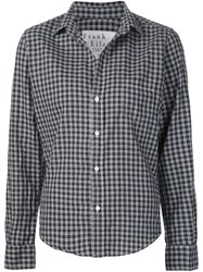 Frank And Eileen Checked Shirt Black