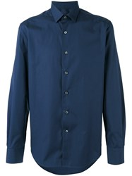Lanvin Plain Shirt Blue