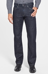Hugo Boss 'Maine' Straight Leg Jeans Navy