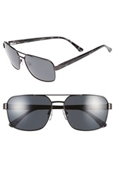 Ted Baker 59Mm Navigator Sunglasses Dark Gunmetal