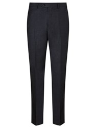John Lewis Tailored Wool Flannel Suit Trousers Airforce