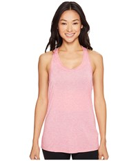 Lucy Workout Racerback Island Rose Heather Women's Clothing Pink