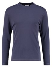 Selected Homme Shdhigh Long Sleeved Top Ombre Blue Blue Grey