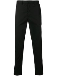 Mcq By Alexander Mcqueen Cropped Tapered Trousers Black