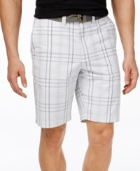 American Rag Men's Plaid Shorts Only At Macy's White