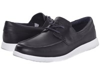 Ugg Catton Navy Leather Men's Slip On Shoes Blue