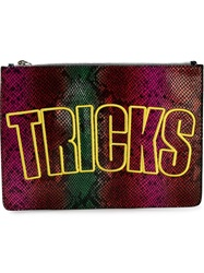 House Of Holland 'Bag Of Tricks' Clutch Multicolour