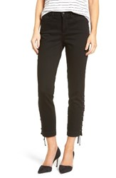 Nydj Women's Lace Up Stretch Ankle Pants