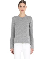 Salvatore Ferragamo Cashmere Sweater With Layered Cuffs