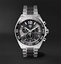 Tag Heuer Formula 1 Chronograph 43Mm Stainless Steel Watch Black