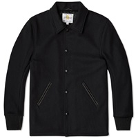 Golden Bear Sportswear Wool Coach Jacket Black