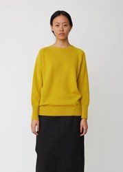 Margaret Howell Oversized Cotton Cashmere Sweater Citron