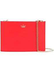 Kate Spade 'Sima' Shoulder Bag Women Leather One Size Red