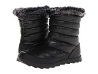 The North Face Thermoball Micro Baffle Bootie Shiny Tnf Black Tnf Black Prior Season Slippers
