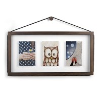 Umbra Corda Multi Photo Display Walnut