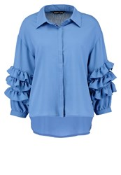 Sister Jane Downtown Blues Shirt Blue Light Blue