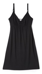 Ingrid And Isabel Drop Cup Nursing Chemise Black