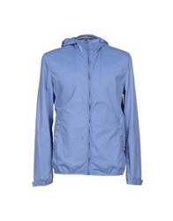 French Connection Coats And Jackets Jackets Men Sky Blue