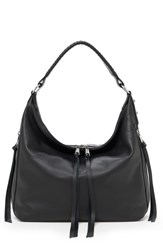 Botkier Samantha Leather Hobo Bag Black