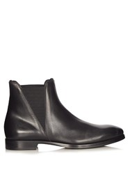 Acne Studios Zack Leather Chelsea Boots Black