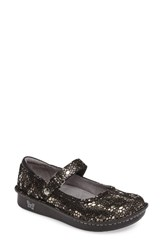 Alegria Women's 'Belle' Slip On Pewter Mosaic Leather