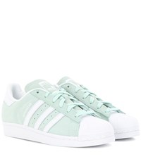 Adidas Superstar Suede Sneakers Green