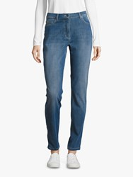 Betty Barclay Perfect Body Skinny Jeans Middle Blue Denim