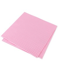 Tommy Hilfiger Men's Mini Gingham Pocket Square Pink
