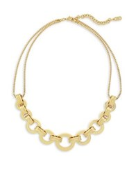Cole Haan 7 25 Catseye On You Gold Statement Necklace