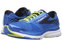 Brooks Launch 3 Electric Blue Lime Punch Black Men's Running Shoes