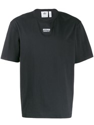 Adidas Monochrome Logo Patch T Shirt Black