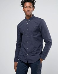Kiomi Shirt In Regular Fit Navy