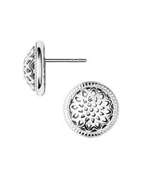 Links Of London Sterling Silver Timeless Domed Stud Earrings